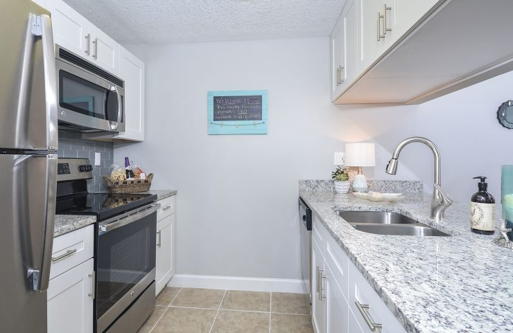 apartments with granite countertops in plantation